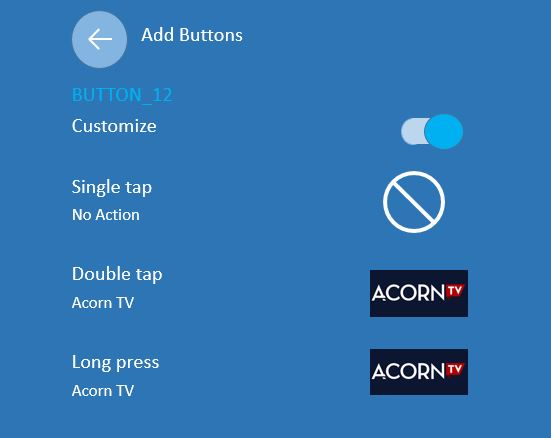 Button Mapper customization