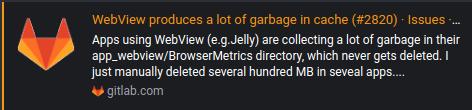 GitLab bug report
